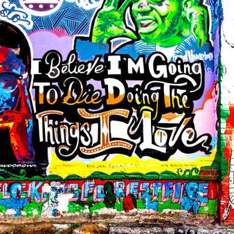 Believe Mural