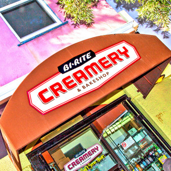 Bi-Rite Creamery and Bakeshop Sign