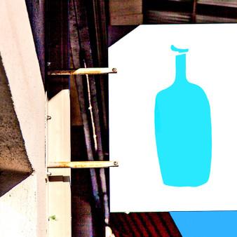 Blue Bottle Coffee Sign