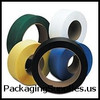 """16"""" x 6"""" Core Hand Grade Poly Strapping 1 2"""" x 7,200` 027 500# 16 x 6 #H1250EMB072T7 Black Hand Grade Poly Strapping SPS1226"""