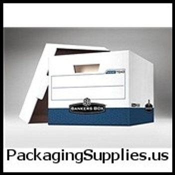 "Premium File Storage Boxes Premium File Storage Box - 15 x 12 x 10"" Blue (12 case) - #574754   FEL07243 FSB170"