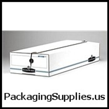 "String & Button File Storage Boxes String and Button Box - 14 1 4 x 9 x 4"" Check Size (12 case) - #00009   FEL00009 FSB600"