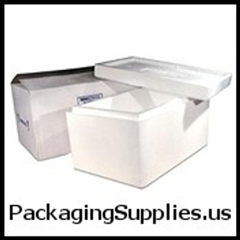 "Insulated Shippers 9 1 2 x 9 1 2 x 7"" Insulated Shipper - 1 1 4"" Thickness 214C"