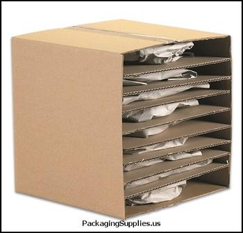 "Corrugated Layer Pads 7 7 8 x 7 7 8"" Corrugated Layer Pad BSSP77"