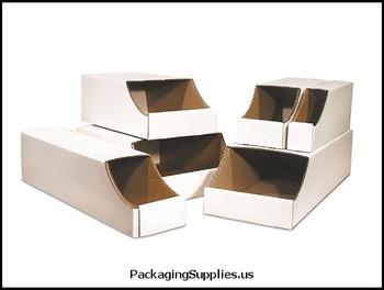 "Stackable Bin Boxes 2 x 12 x 4 1 2"" Stackable Bin Box BSBINB212"