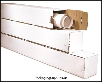 "Corrugated Mailing Tubes 5 x 5 x 37"" Square Tube BSM5537"