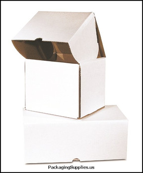 """Outside Tuck Corrugated Mailers 9 1 2 x 8 x 8"""" Outside Tuck Corrugated Mailer BSMEZ988"""