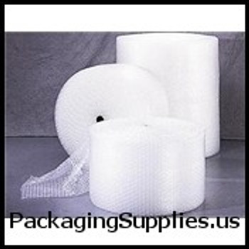 "UPS-able Perforated Bubble Rolls 1 2"" 48"" x 125` Slit 24"" Perfed 12"" Retail Length Large Bubble (2 rolls bundle) CBWUP12S24P"
