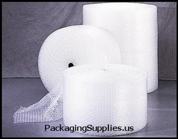 "UPS-able Perforated Bubble Rolls 1 2"" 48"" x 125` Perfed 12"" Retail Length Large Bubble (1 roll bundle) CBWUP1248P"