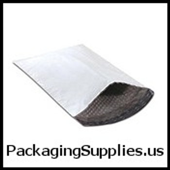 """Bubble Lined Poly Mailers Self-Seal #000 - 4 x 8"""" Bubble Lined Self-Seal Poly Mailer (500 case) ENVB828"""