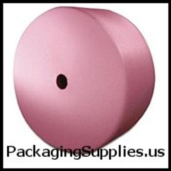 """Anti-Static Perforated Foam Rolls 1 4"""" 72"""" x 250` Anti-Static Slit 18"""" Perfed 12"""" Foam (4 rolls bundle) CFW14S18ASP"""