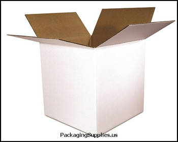 Boxes 6 x 6 x 6 White 200#   32 ECT 25 bdl.  1500 bale BS060606W