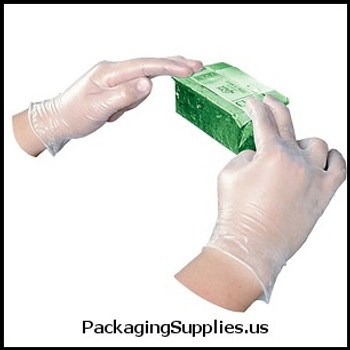 Gloves Impact® ProGuard® Disposable Vinyl Powder-Free General Purpose Gloves - Large (100 bx) (MFG# 8608L) 585813