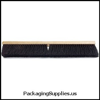 "Dust Pans & Brooms 24"" Medium Tampico Push Broom Head (each) 417026"