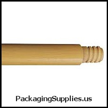 Dust Pans & Brooms Wood Threaded Broom Handle 410126