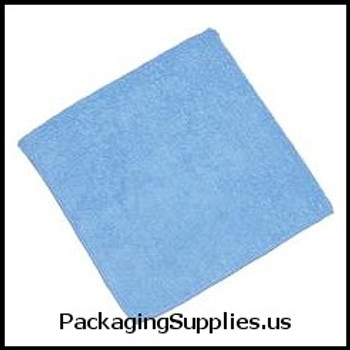 Microfibre Products 16X16 BLUE MICROFIBER CLOTHS (24 cs) 264905