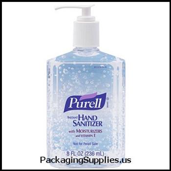 Soaps & Hand Sanitizers Purell® Instant Hand Sanitizer - 8 oz pump (12 cs) (MFG# 1652-12) 602008