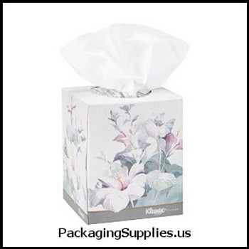 Roll Towels, Toilet Tissue & Kleenex Kleenex® Boutique® Facial Tissue Floral Cube Box - 95 Tissues Box (36 boxes cs) (MFG# 21269) 897611