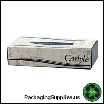 Roll Towels, Toilet Tissue & Kleenex Carlyle® Facial Tissue Flat Box - 100 Tissues Box (30 boxes cs) 902106