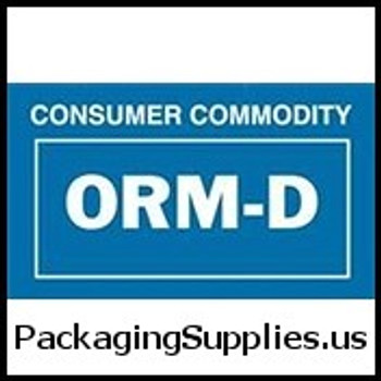 "ORM-D Labels #DL7030 2 1 4 x 1 3 8"" ORM-D Cartridges Label LABDL7030"
