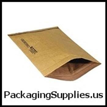"Kraft Padded Mailers #3-78333 8 1 2 x 14 1 2"" Kraft Padded Mailer (100 Case) ENVB806"