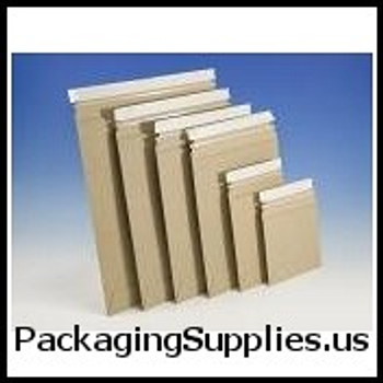 "Stayflats® Plus Kraft Top-Loading Self-Seal Mailer 6 x 8"" #1 PSK Kraft Top-Loading Self-Seal Stayflats® Plus Mailer (100 Case) ENVRM1PSKSS"