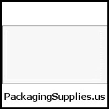 """Clear Face Document Envelopes 5 1 2 x 10"""" Clear Face Document Envelope (1000 Case) ENVPQ28"""