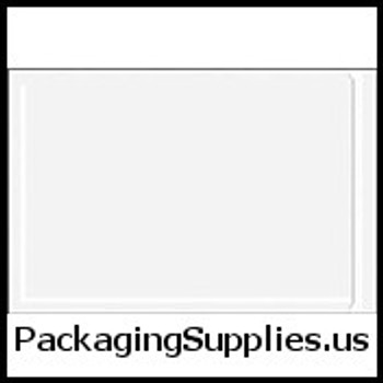 """Resealable Zippered Clear Face Document Envelopes 6 x 9"""" Clear Face Document Envelope — Resealable Zipper (1000 case) ENVLNP69"""