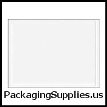 "Resealable Zippered Clear Face Document Envelopes 9 x 12"" Clear Face Document Envelope — Resealable Zipper (500 case) ENVLNP912"