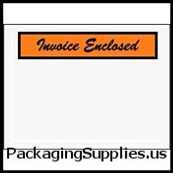 "Invoice Enclosed Envelopes 4 1 2 x 6"" Panel Face Invoice Enclosed Envelope (1000 Case) ENVPQ3"