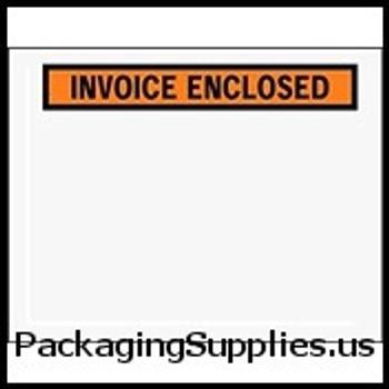 """Invoice Enclosed Envelopes 7 x 5 1 2"""" Panel Face Invoice Enclosed Envelope (1000 Case) ENVPQ23"""