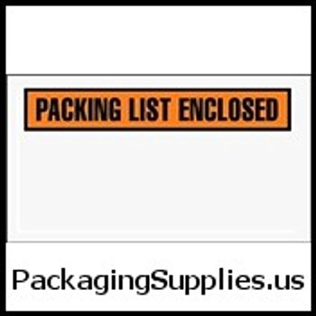"Packing List Enclosed Envelopes 5 1 2 x 10"" Panel Face Packing List Envelope (1000 Case) ENVPQ24"