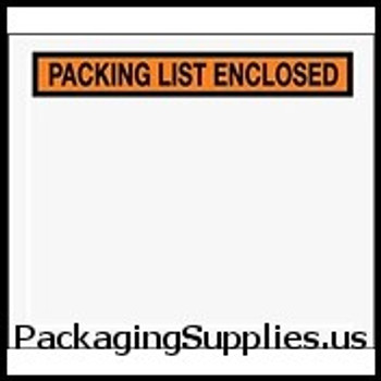 "Packing List Enclosed Envelopes 7 x 6"" Panel Face Packing List Envelope (1000 Case) ENVPQ32"