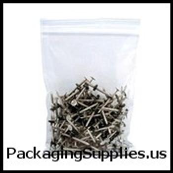 "Reclosable Poly Bags, 2 MIL 2 x 3"" 2 Mil Reclosable Poly Bag (1000 Case) PB3525"