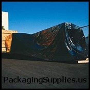 Heavy Duty Black Poly Sheeting, 4 MIL 8 x 100` 4 Mil Heavy-Duty Black Poly Sheeting CF408B