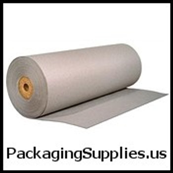 "Bogus Kraft Paper 48"" 50# Grey Bogus Kraft Paper Roll PKPB4850"