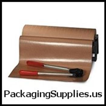 """Poly Coated Kraft Paper 48"""" x 600` Poly Coated Kraft Paper PKPPC4850"""