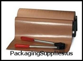 """Poly Coated Kraft Paper 60"""" x 600' Poly Coated Kraft Paper PKPPC6050"""