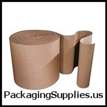 "Singleface Corrugated Protective Wraps 6"" X 250` Singleface Corrugated CRCSF06"