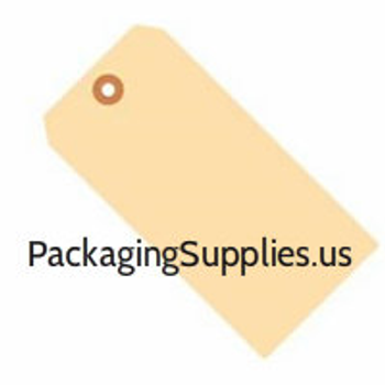 "# 7 5 3/4""x2 7/8"" 10 Pt. Manila Shipping Tags - Unwired (1000/case) #P11497 G30071 (G30071)"