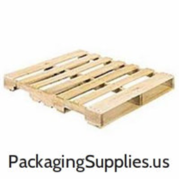 "Pallets|40"" x 48"" 4-Way Wood Pallet (10/Stack)