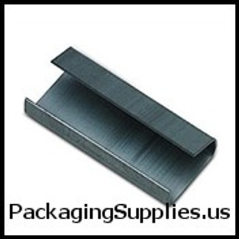 "Polypropylene Strapping Seals 5 8"" Open Snap On Poly Strapping Seals #8PU0625S   P58SO2 (1000 Case) SPS58SEAL"