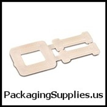 "Polypropylene Strapping Buckles 1 2"" Plastic Poly Strapping Buckles #8PN0500B SPSPS12PLBUCK"