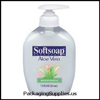 Soaps & Hand Sanitizers 7.5 OZ SOFTSOAP WITH ALOE (12 cs) 430313