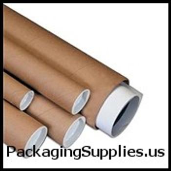 "Kraft Mailing Tubes 1 1 2 x 6"" Kraft Tube (50 Case) P1506K"