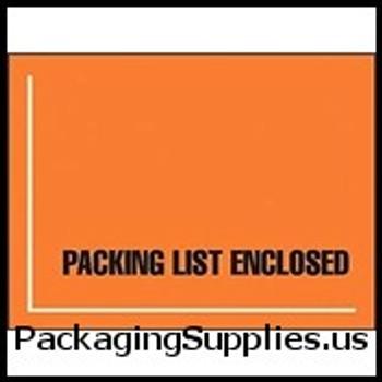 "Military Spec. and MSDS Document Envelopes 4 1 2 x 6"" Fluorescent Back Military Spec. Packing List Envelope (1000 Case) ENVJMR12"
