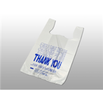 """Thank You Pre-printed T-Shirt Bags