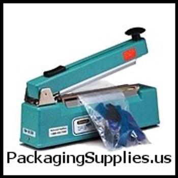 """Impulse Sealers with Cutters HJC2105T 8"""" x 5mm"""" Impulse Sealer w Cutter HJC2105T"""