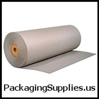 "Bogus Kraft Paper 24"" 50# Grey Bogus Kraft Paper Roll PKPB2450"
