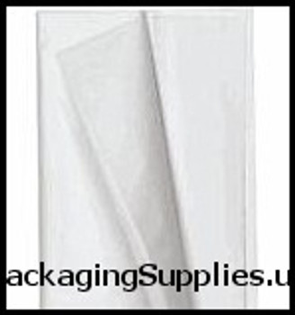 "Tissue Paper 20 x 30"" #1 White Tissue Paper - Premium Grade Machine Glazed (10 reams case) #MG PTP2030"